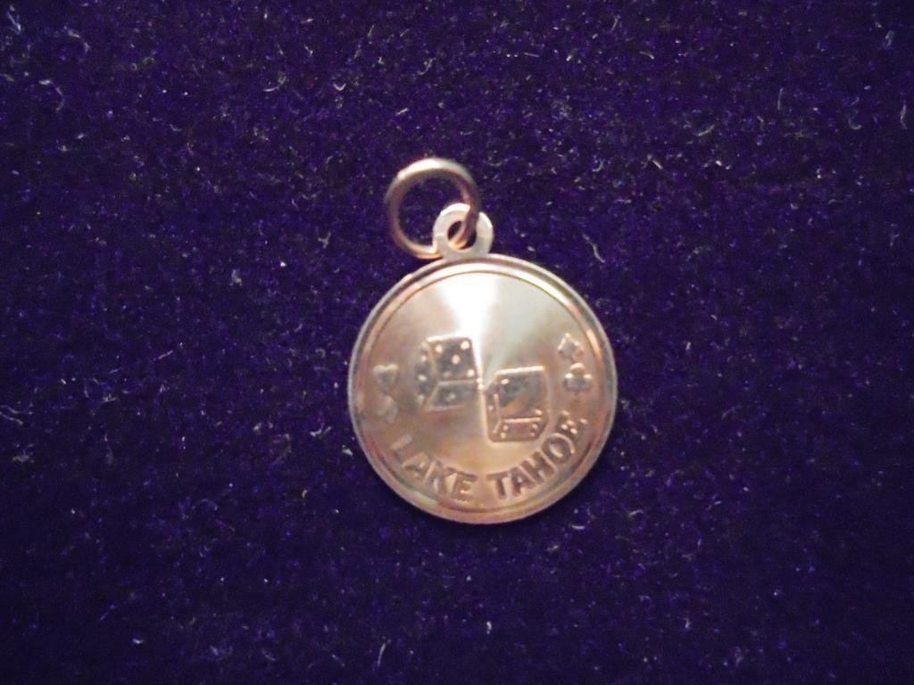 14KT GOLD LAKE TAHOE CHARM APPROX. .7 GRAMS