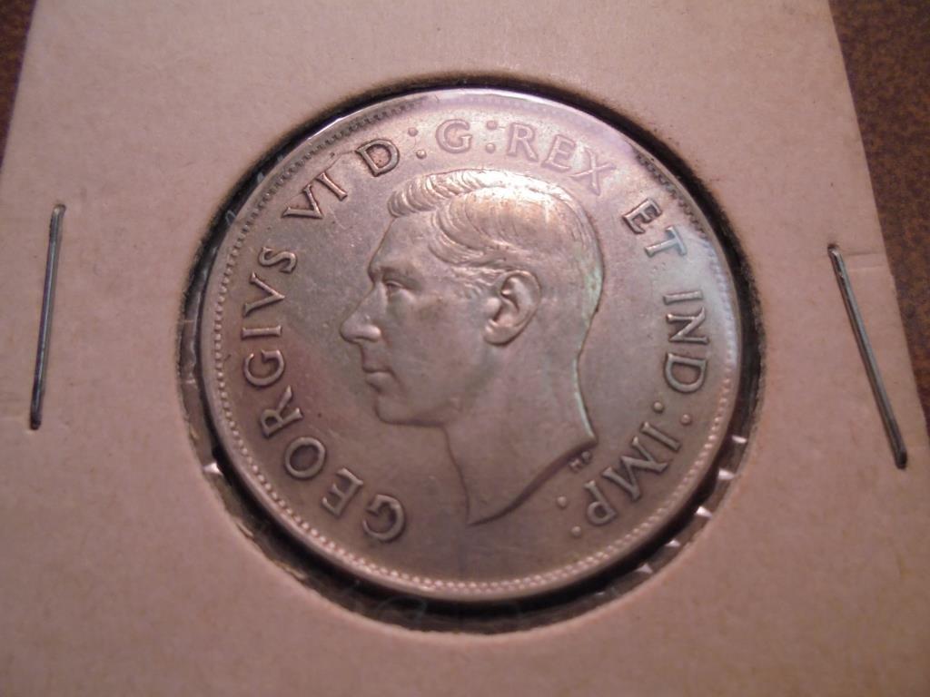 1943 CANADA SILVER 50 CENT - 2
