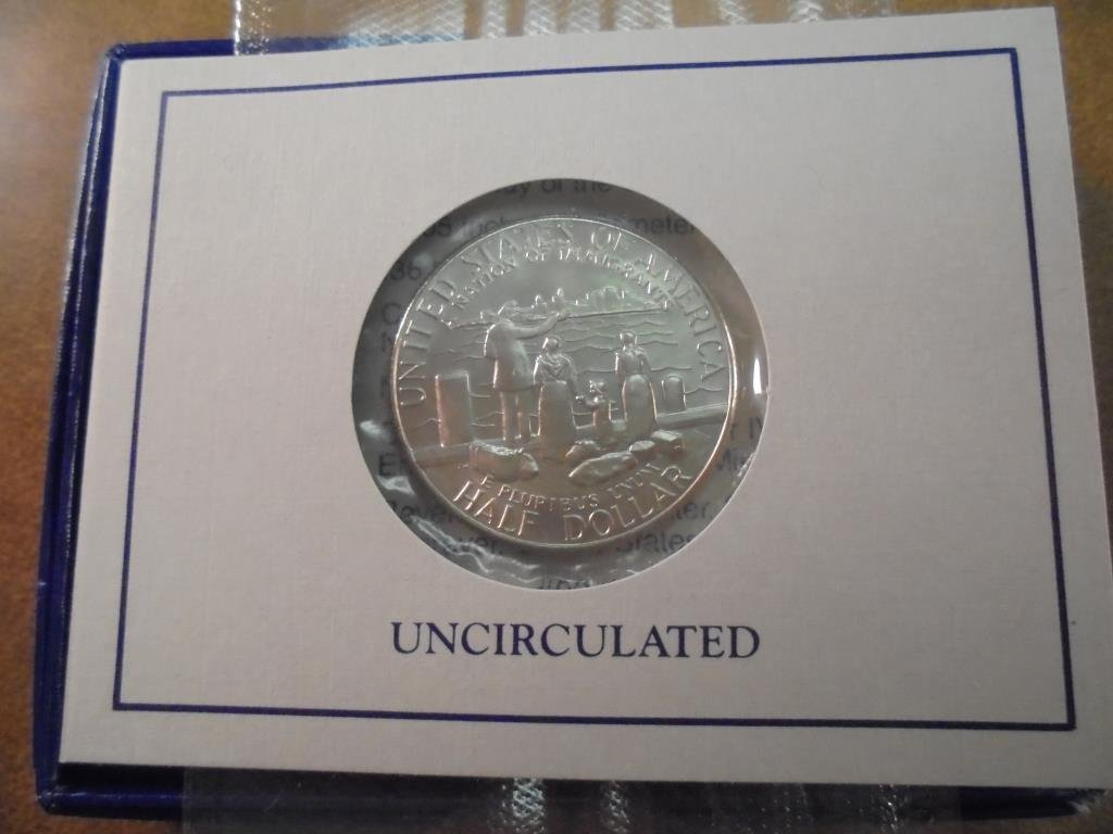 1986-D STATUE OF LIBERTY HALF DOLLAR