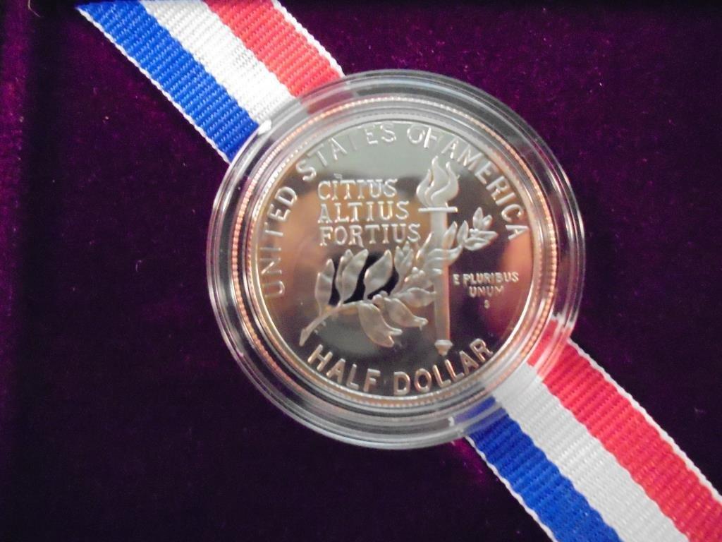 1992-S US OLYMPIC HALF DOLLAR PROOF