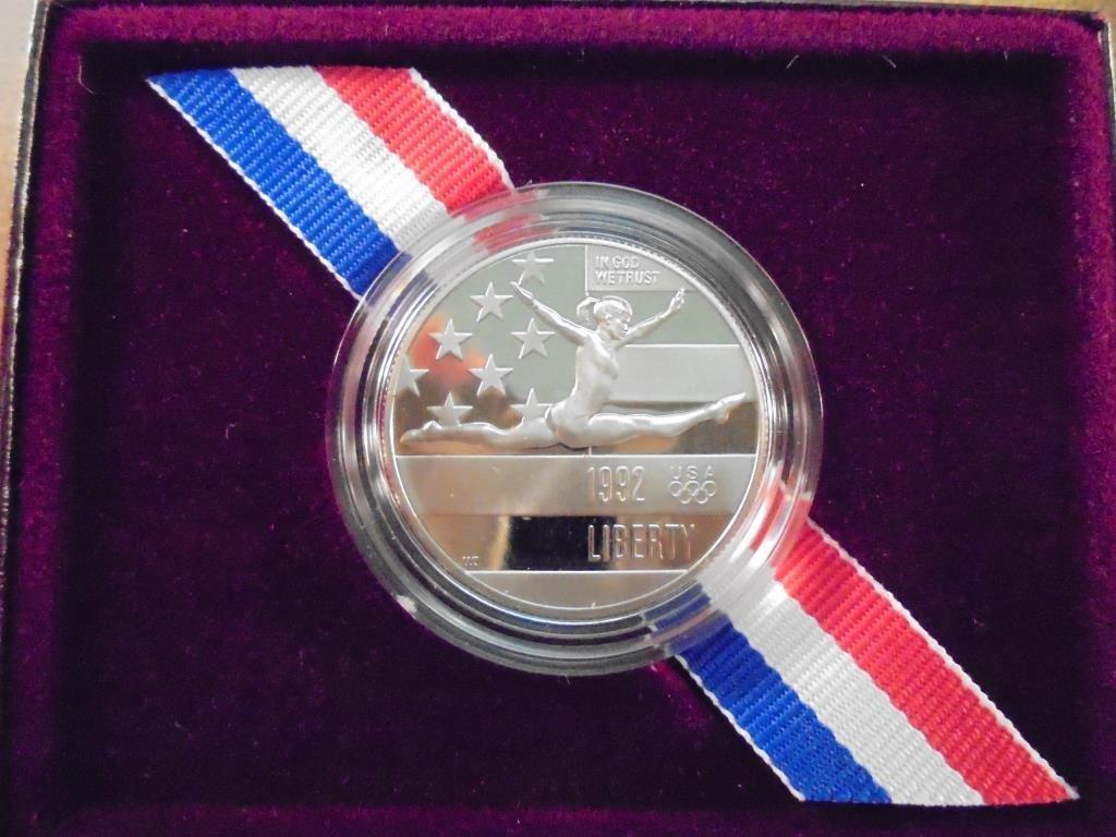 1992-S US OLYMPIC HALF DOLLAR PROOF - 2