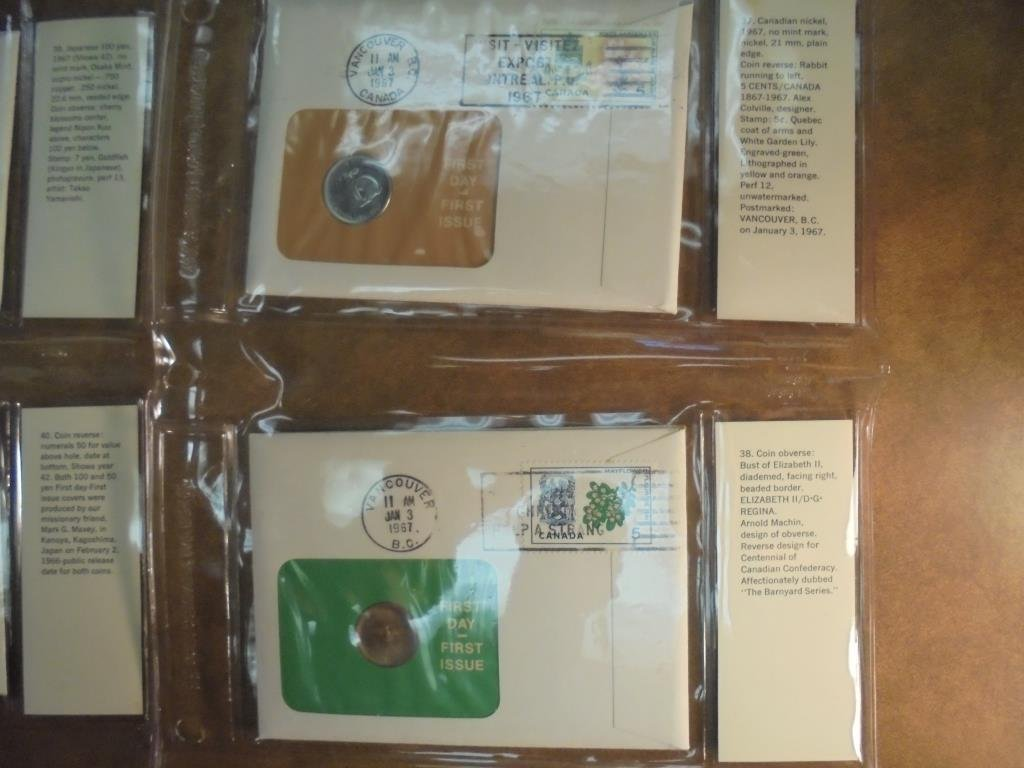 18 ASSORTED PNC 1ST DAY COVERS SEE DESCRIPTION - 7