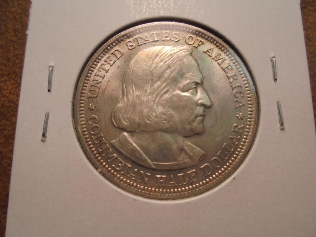 1892 COLUMBIAN EXPOSITION HALF DOLLAR UNC - 2