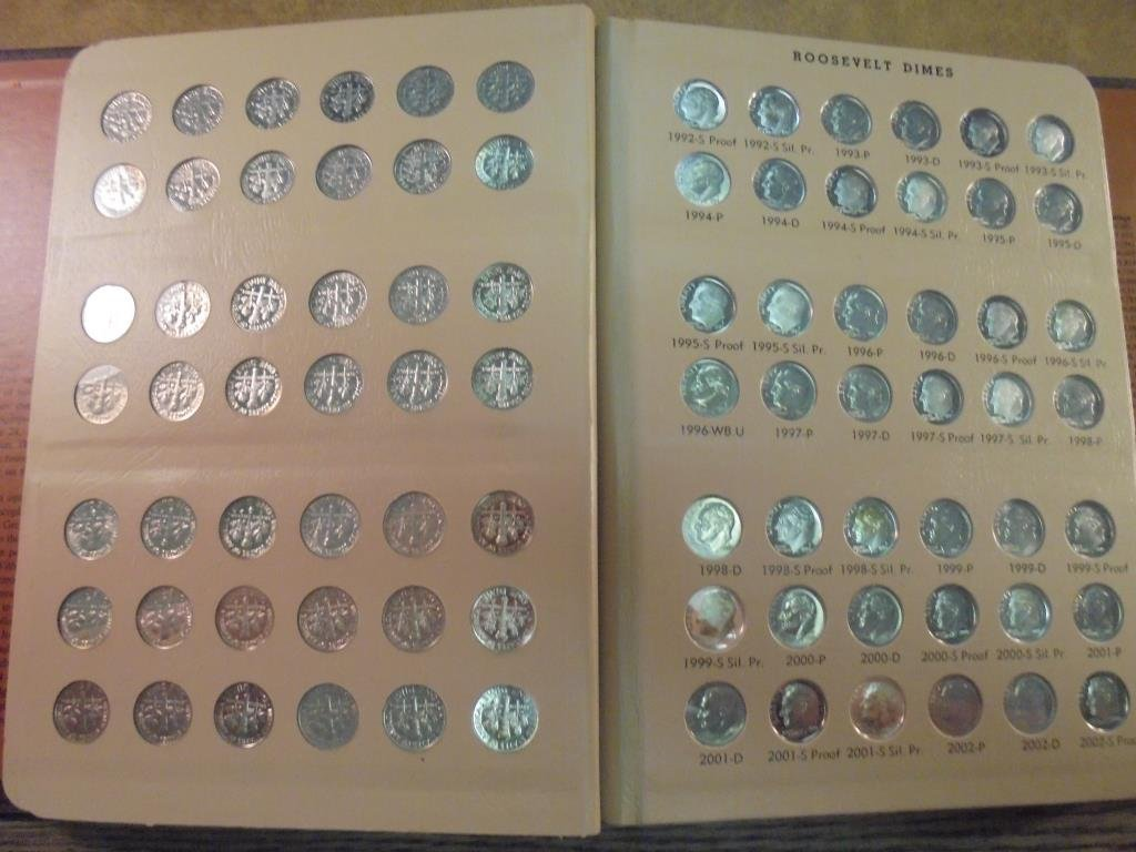 OUTSTANDING COMPLETE 1946-2015 ROOSEVELT DIME SET - 4