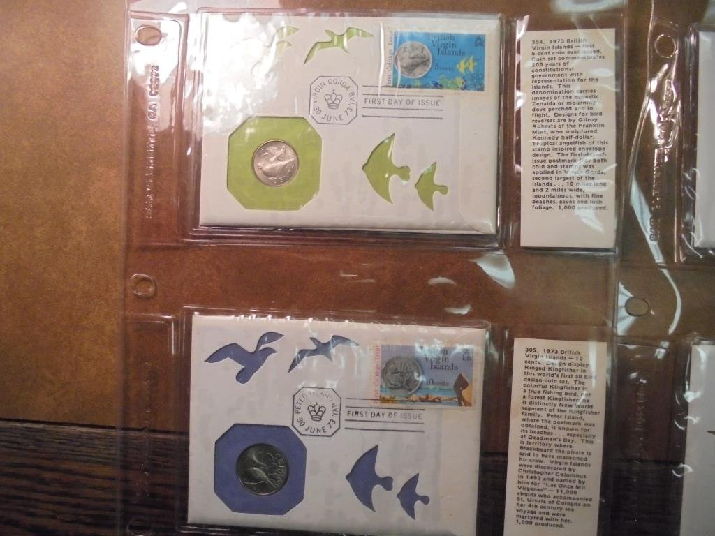 18 ASSORTED PNC 1ST DAY COVERS SEE DESCRIPTION - 8