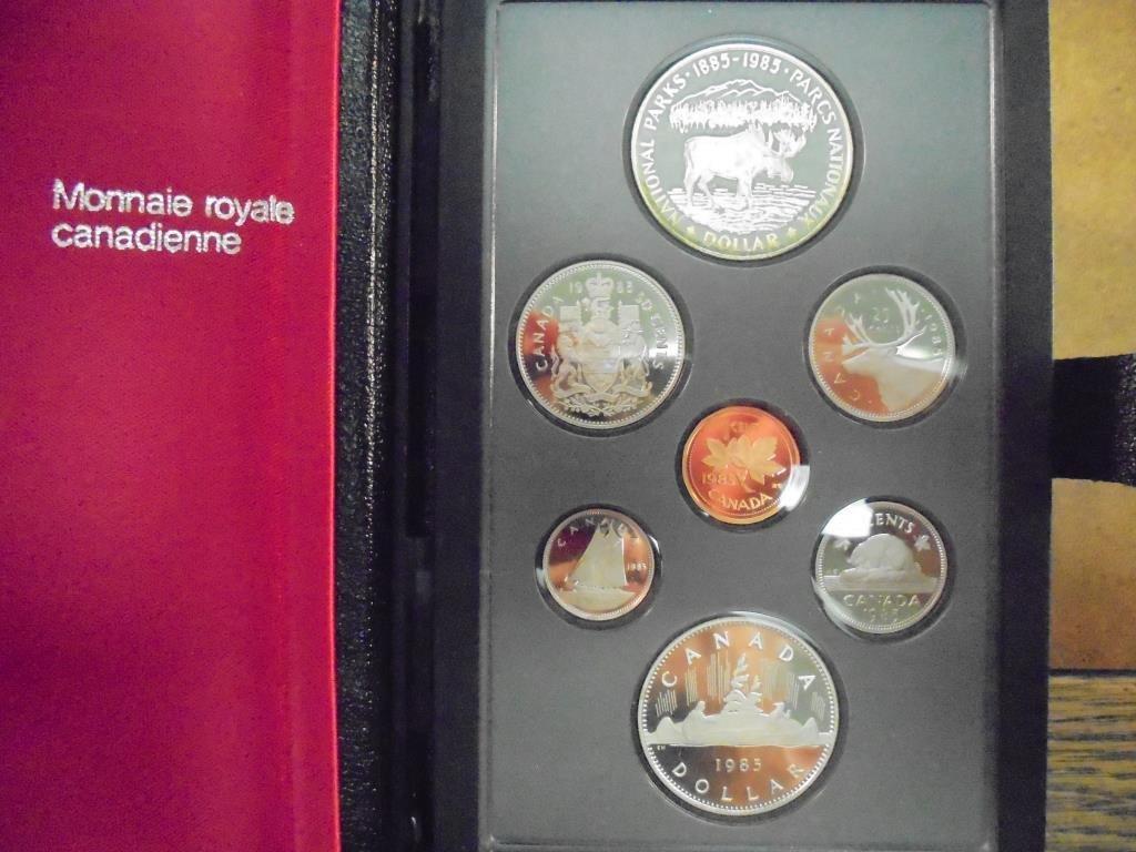 1985 CANADA DOUBLE DOLLAR PROOF SET