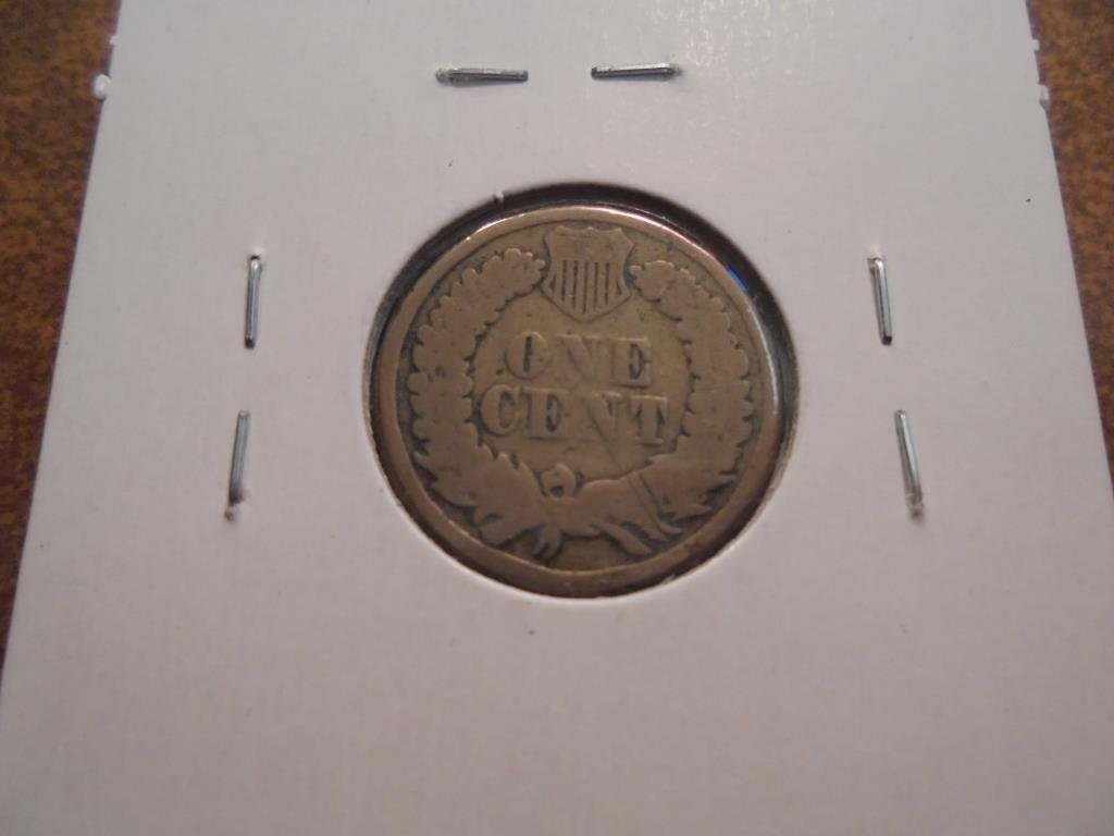 1860 INDIAN HEAD CENT - 2