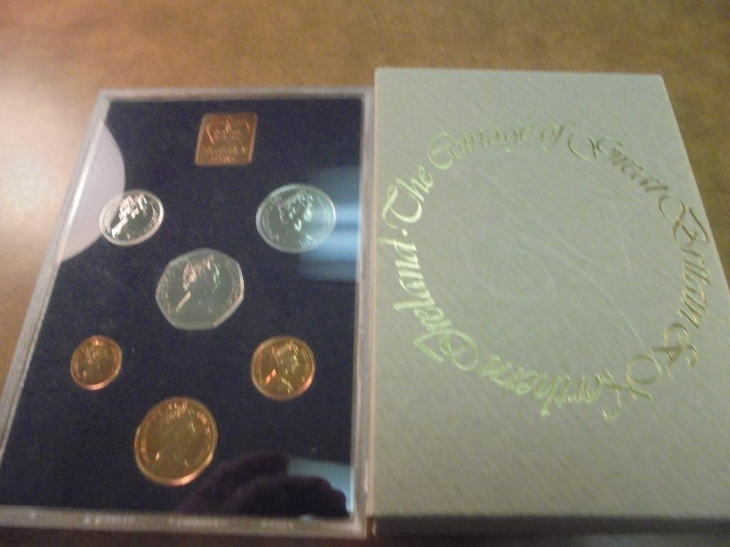1976 GREAT BRITAIN AND NORTHERN IRELAND PROOF SET - 2