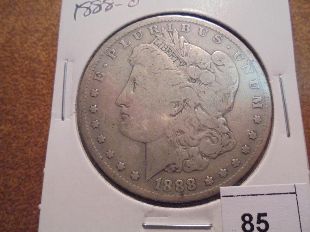 1888-O MORGAN SILVER DOLLAR