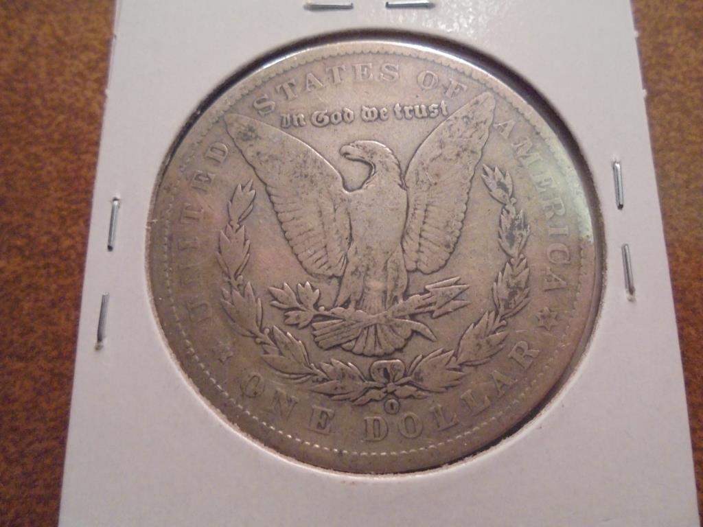 1888-O MORGAN SILVER DOLLAR - 2