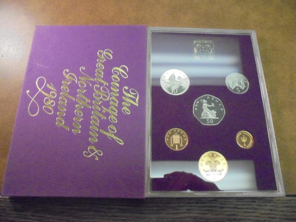 1980 GREAT BRITAIN AND NORTHERN IRELAND PROOF SET