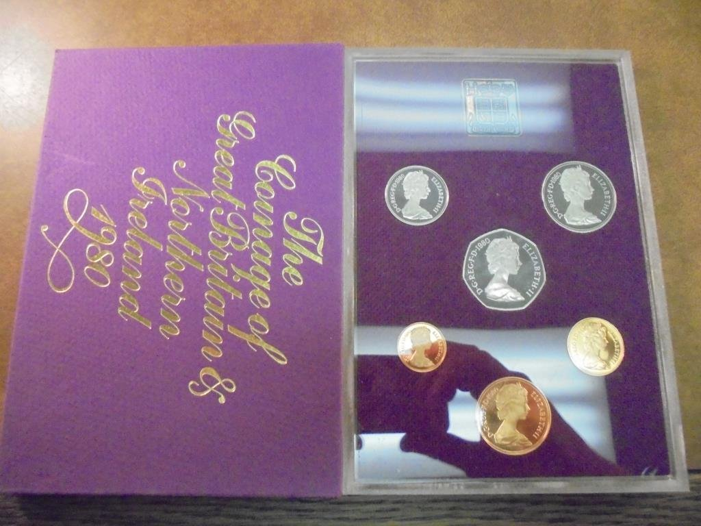 1980 GREAT BRITAIN AND NORTHERN IRELAND PROOF SET - 2