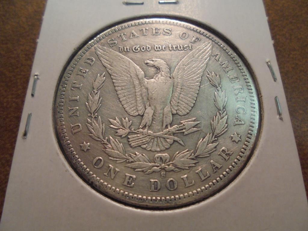 1892-S MORGAN SILVER DOLLAR BETTER DATE - 2