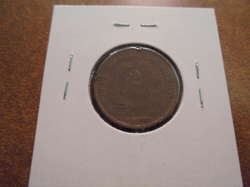 1867 US TWO CENT PIECE - 2
