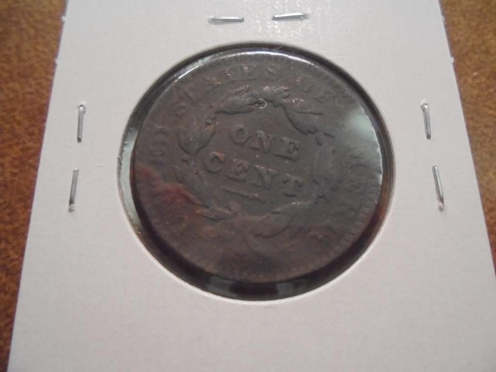 1834 US LARGE CENT - 2