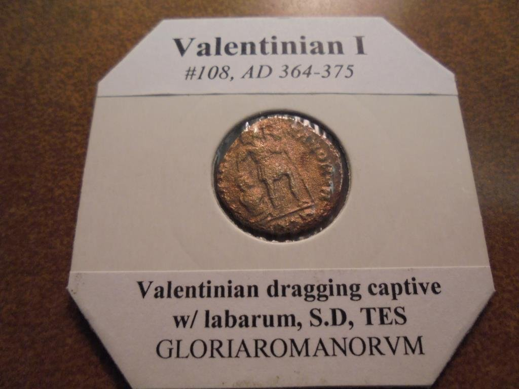 364-375 A.D. VALENTINIAN I ANCIENT COIN (FINE) - 2