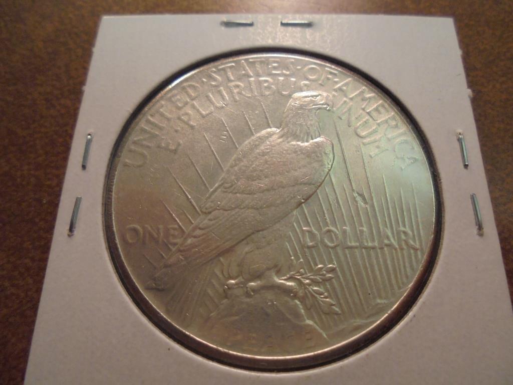 1926 PEACE SILVER DOLLAR GEM BU - 2
