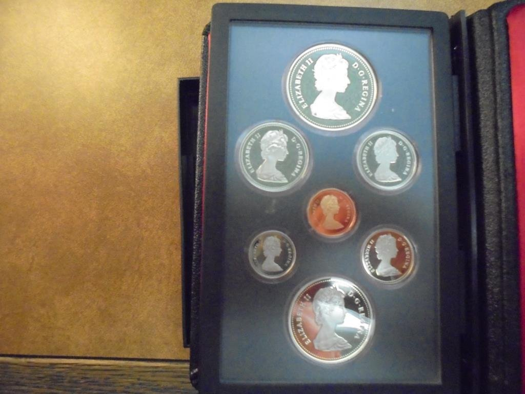 1982 CANADA DOUBLE DOLLAR PROOF SET REGINA - 2
