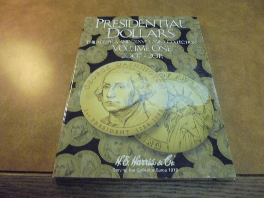 COMPLETE 2007-2011 PRESIDENTIAL DOLLAR SET - 2