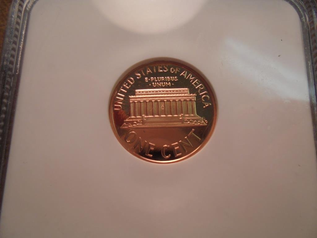 1995-S LINCOLN CENT NGC PF69RD ULTRA CAMEO - 2