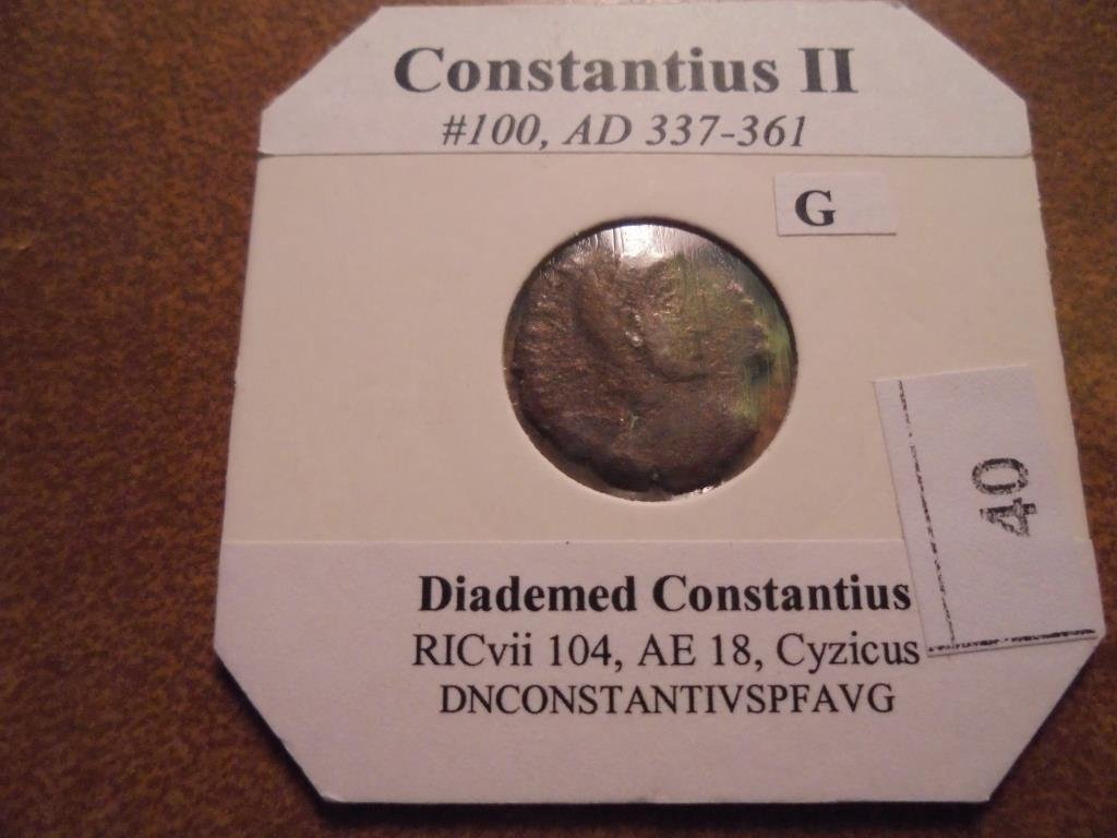 337-361 A.D. CONSTANTIUS II ANCIENT COIN