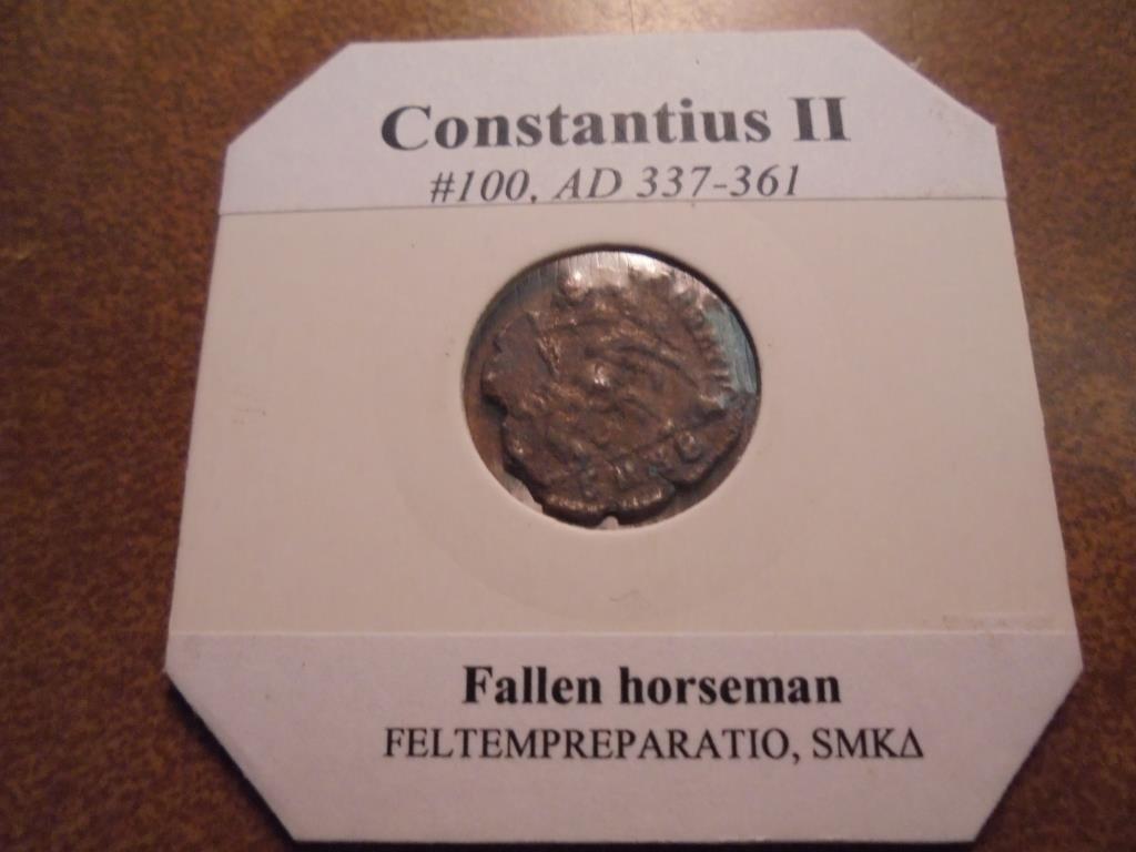 337-361 A.D. CONSTANTIUS II ANCIENT COIN - 2