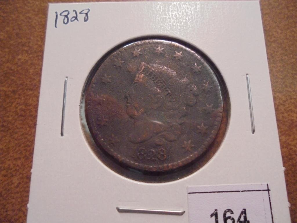1828 US LARGE CENT