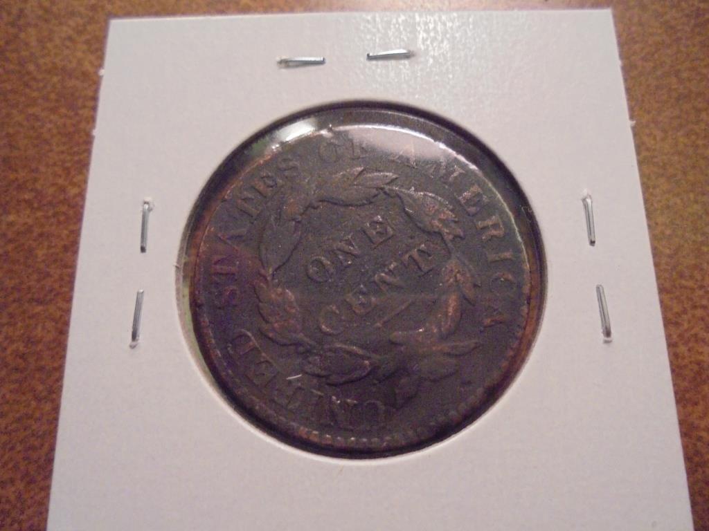 1828 US LARGE CENT - 2
