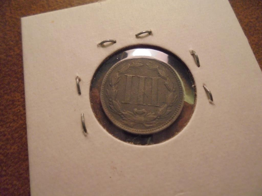 1868 THREE CENT PIECE (NICKEL) - 2