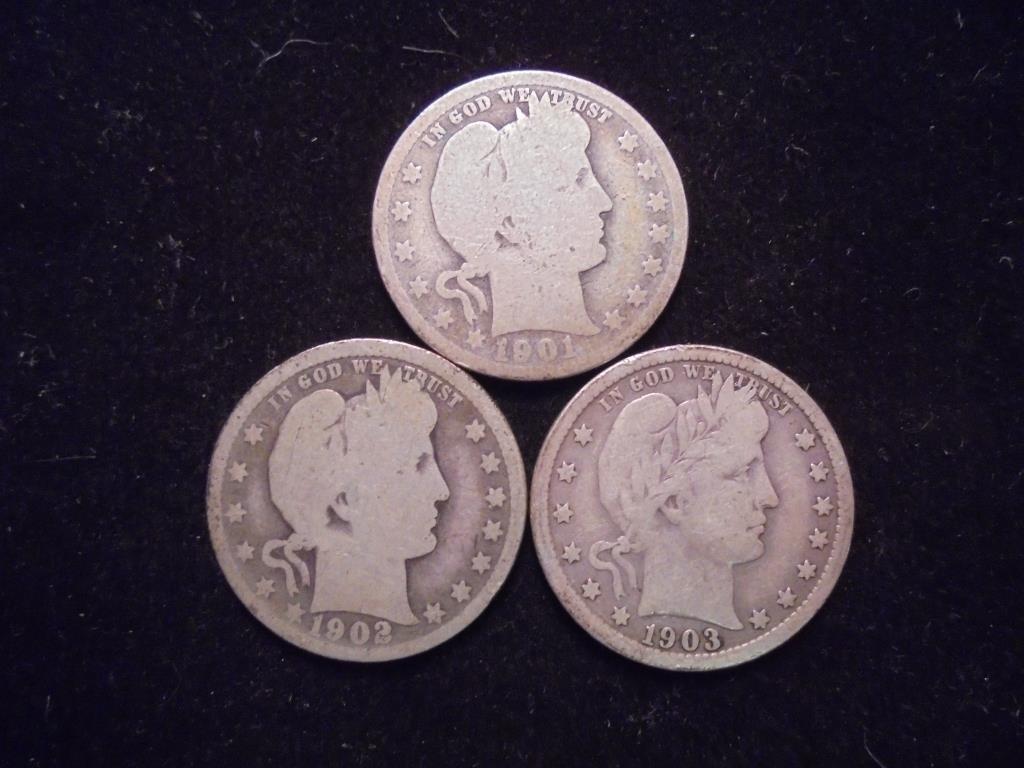 1901,02 & 03 BARBER QUARTERS