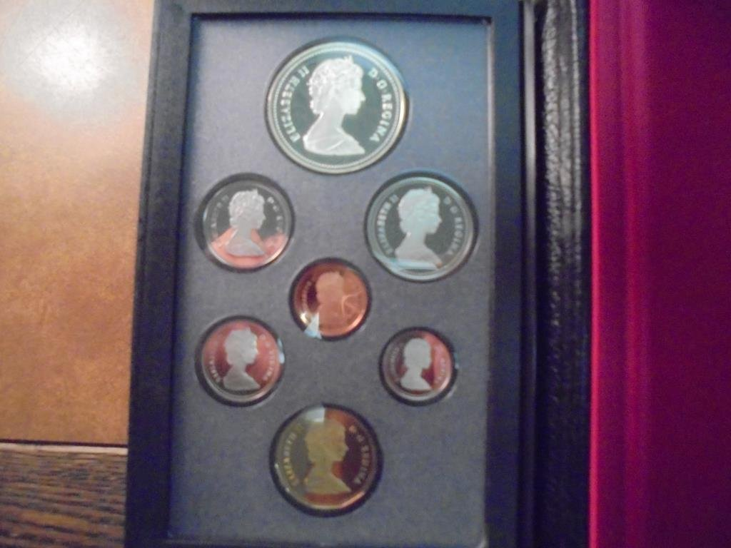 1988 CANADA DOUBLE DOLLAR PROOF SET IRON WORKS - 2