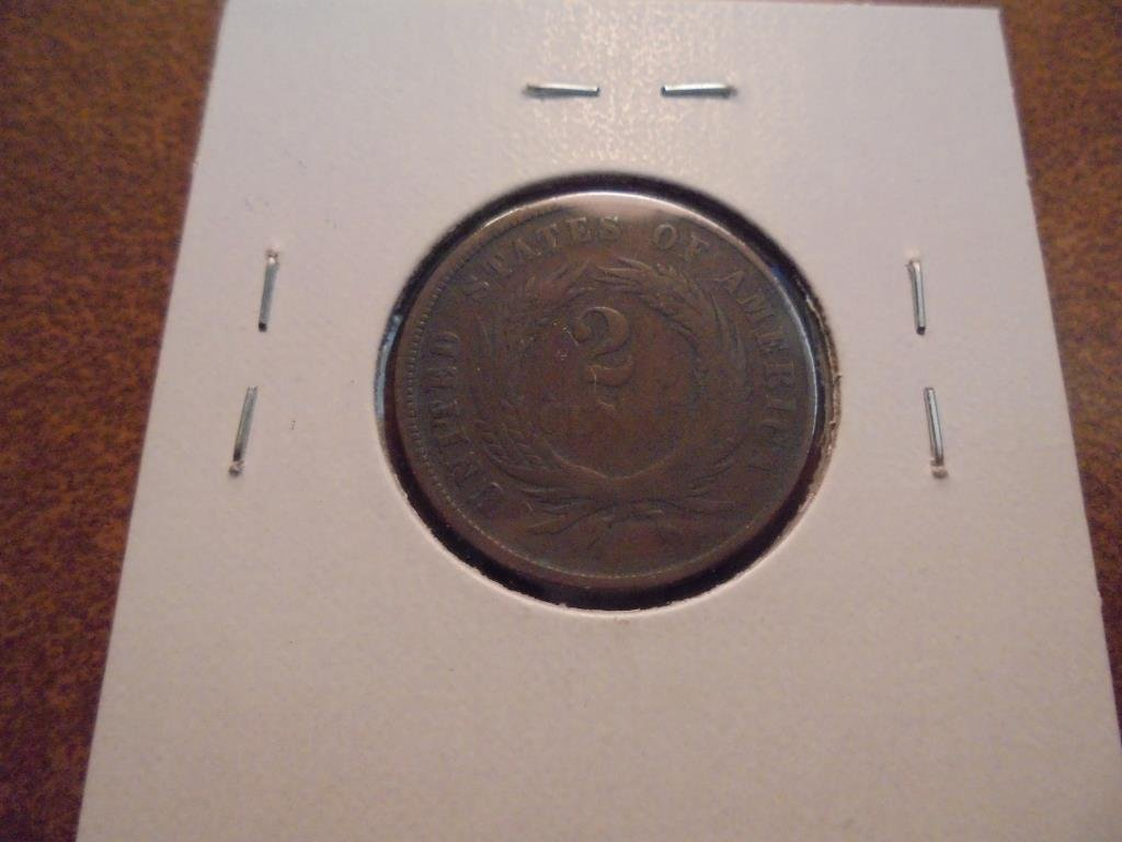 1866 US TWO CENT PIECE - 2