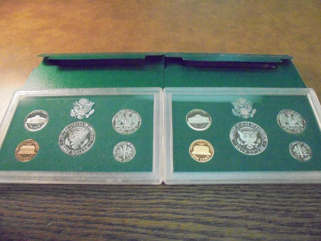 1994 & 1997 US PROOF SETS (WITH BOXES) - 2