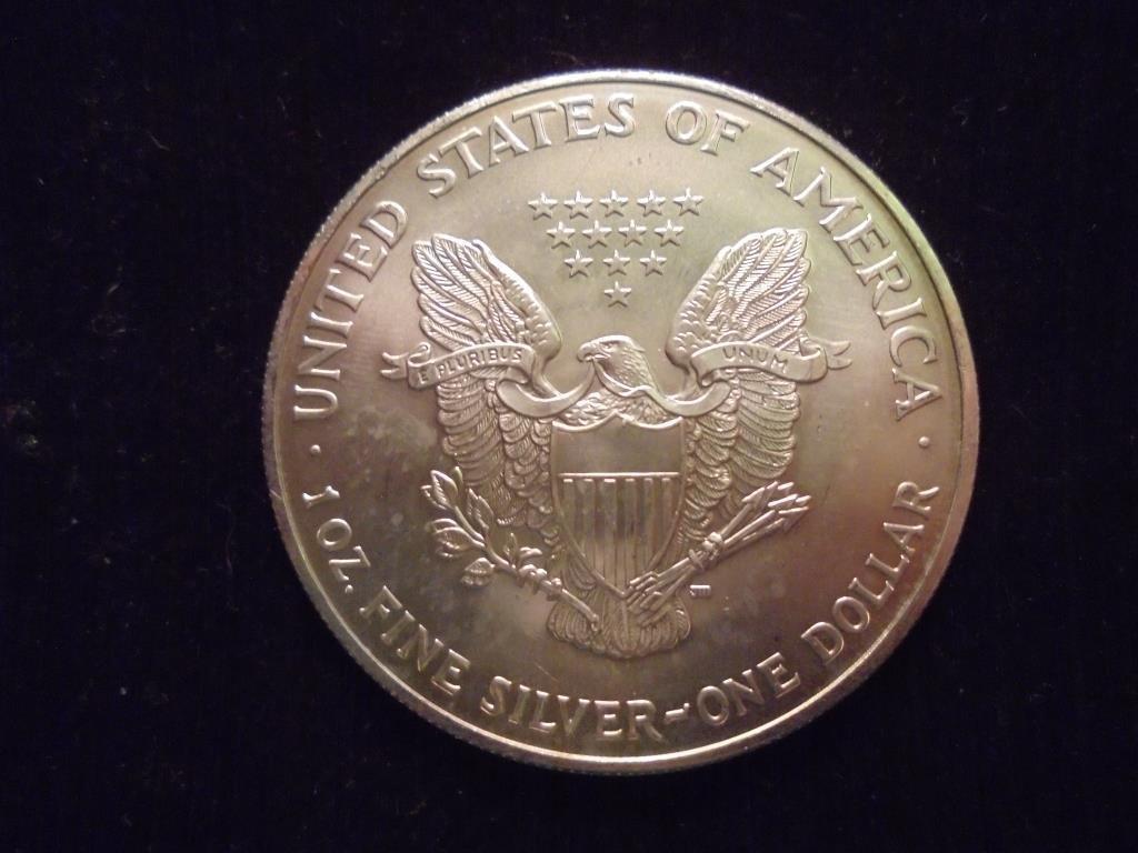 2004 AMERICAN SILVER EAGLE UNC - 2