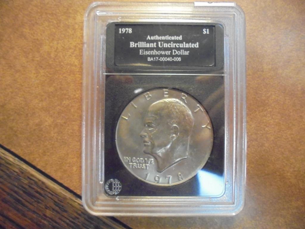 1978 IKE DOLLAR BRILLIANT UNC