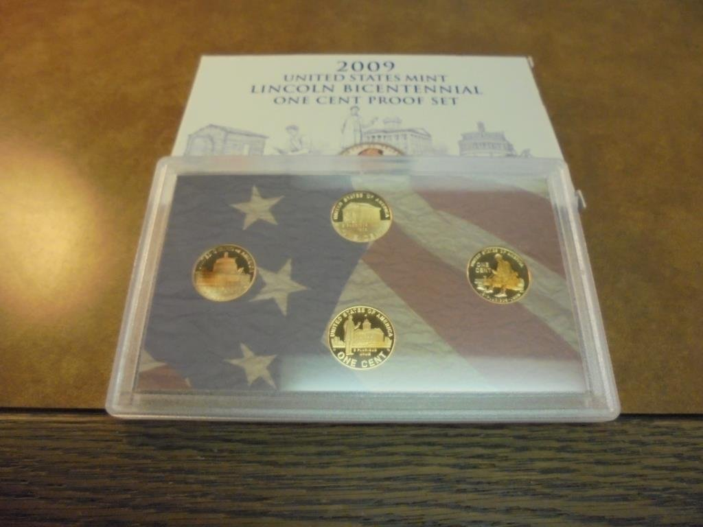 2009 US LINCOLN BICENTENNIAL CENT PROOF SET