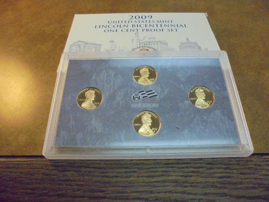 2009 US LINCOLN BICENTENNIAL CENT PROOF SET - 2