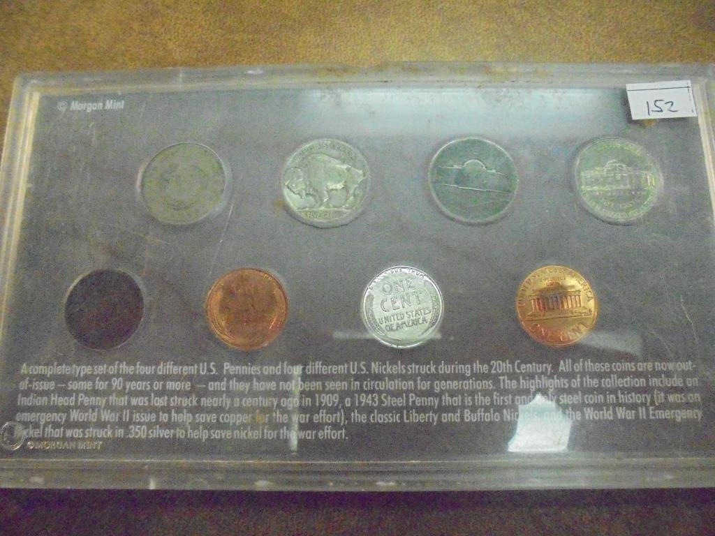 20TH CENTURY COIN COLLECTION AS SHOWN - 2