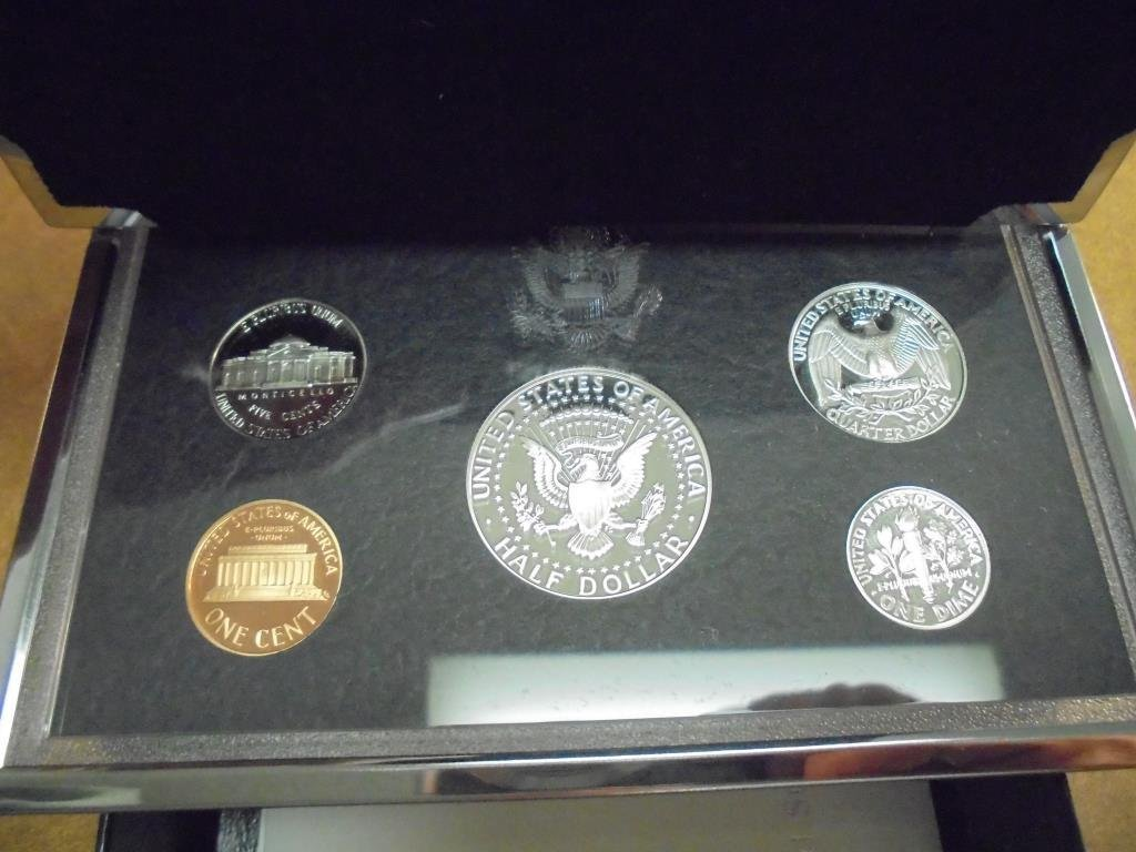 1998 US SILVER PREMIER PROOF SET (WITH BOX) - 2