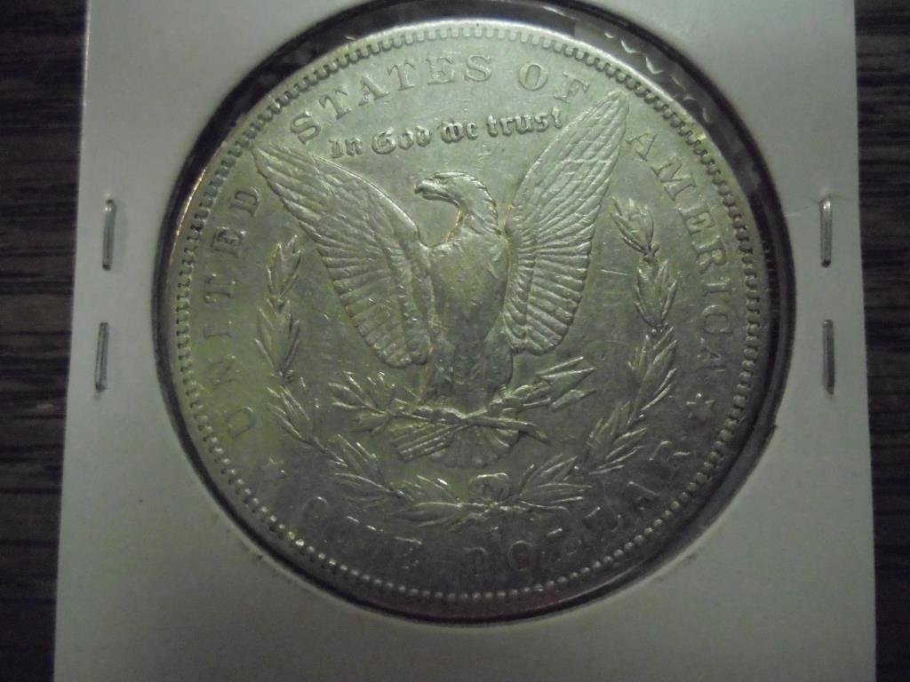 1884-S MORGAN SILVER DOLLAR - 2