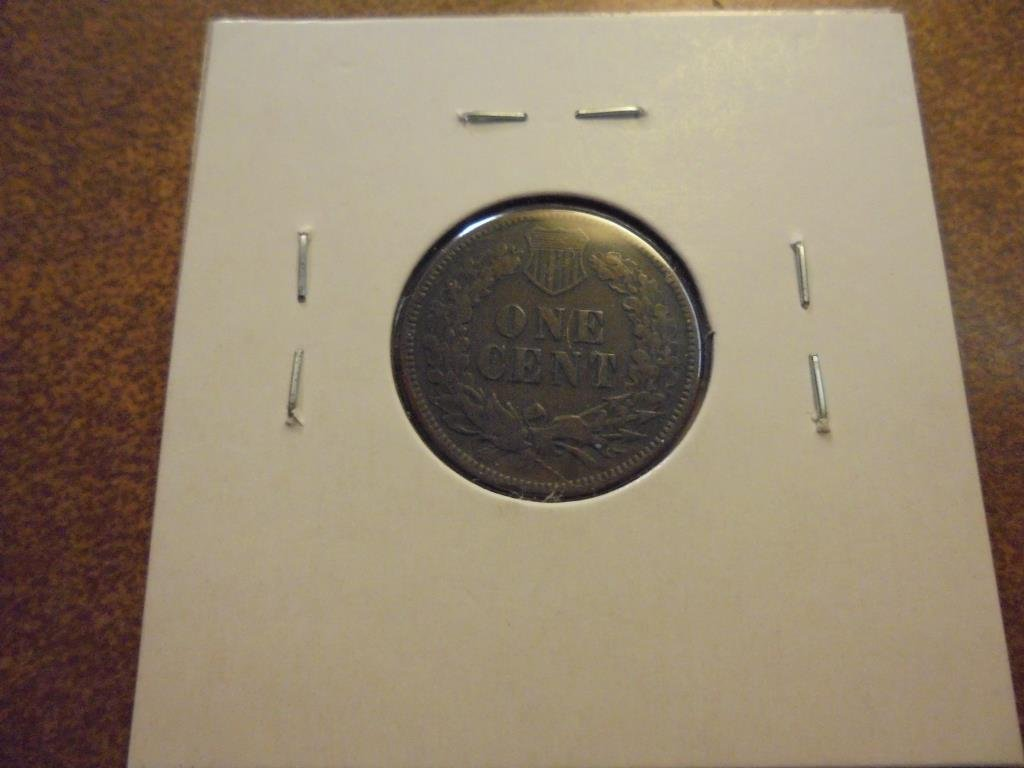 1875 INDIAN HEAD CENT (FINE) - 2