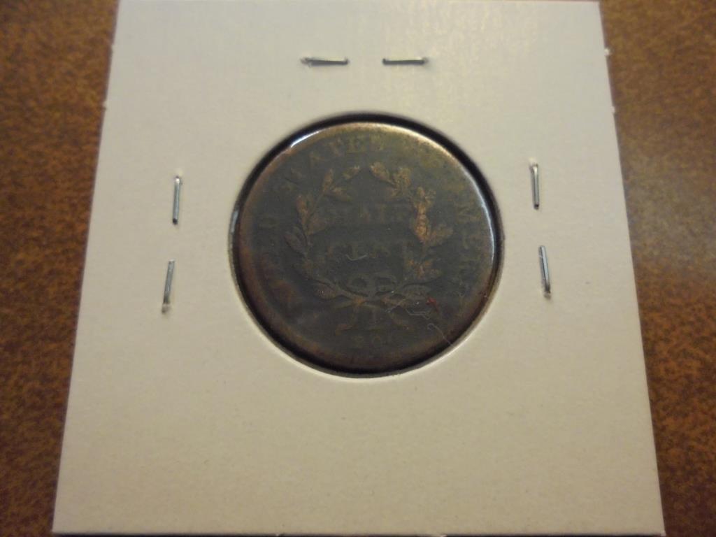 1808 US HALF CENT