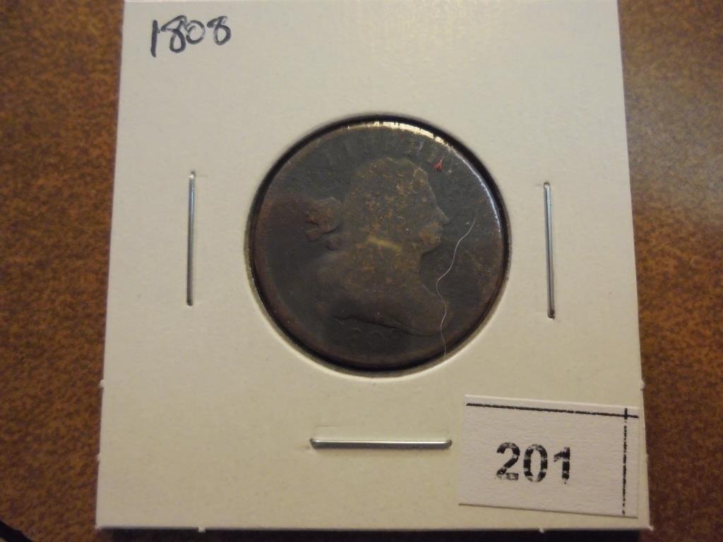 1808 US HALF CENT - 2