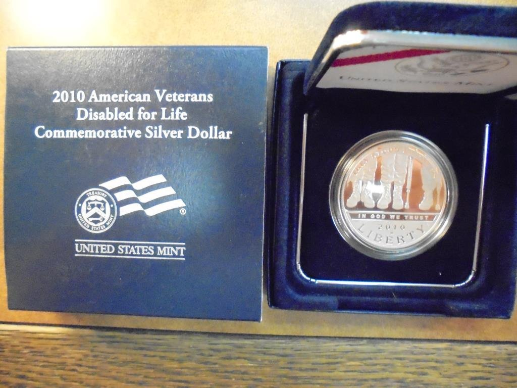 2010-W AMERICAN VETERANS DISABLED  FOR LIFE PF