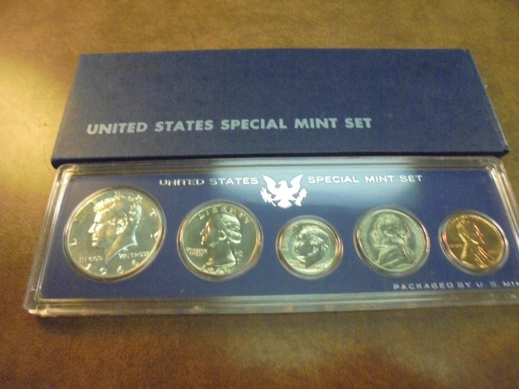 1966 US SPECIAL MINT SET WITH BOX