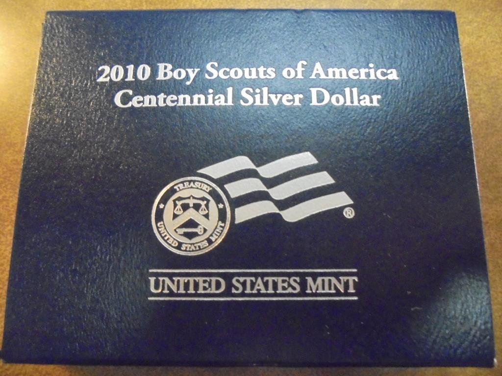 2010-P BOY SCOUTS OF AMERICAN UNC SILVER DOLLAR - 3