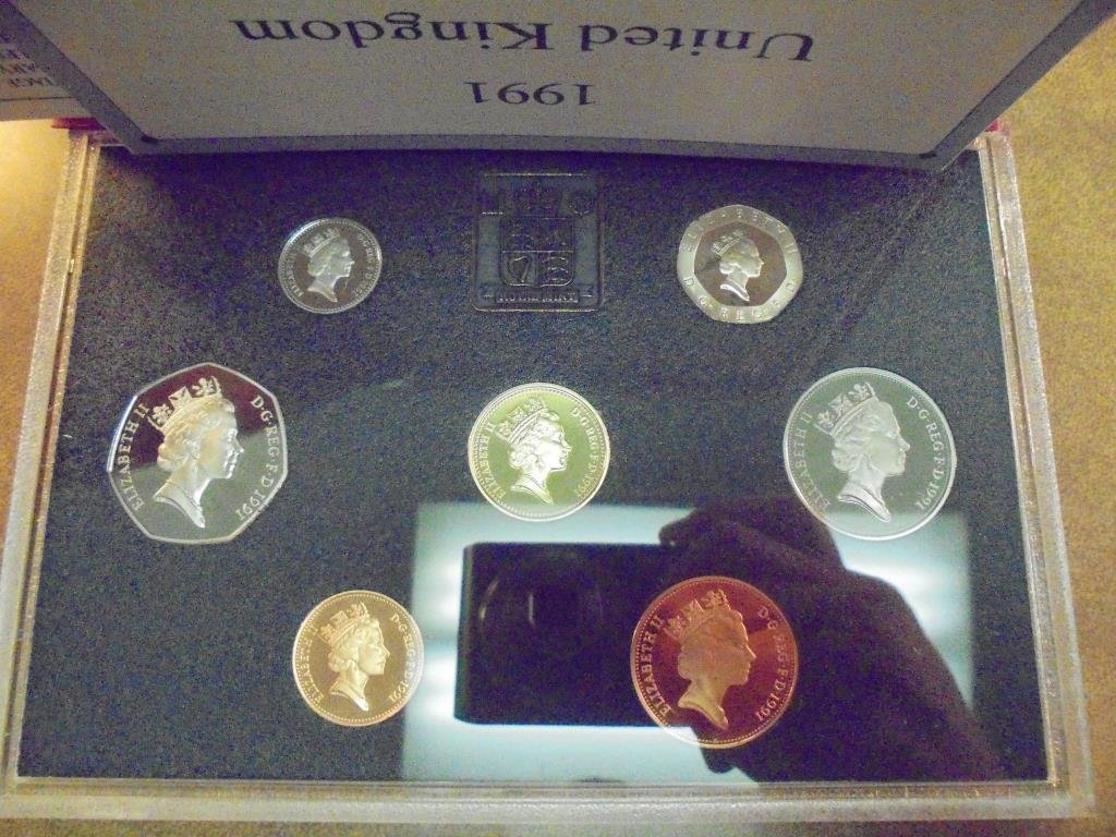 1991 UNITED KINGDOM PROOF COIN COLLECTION