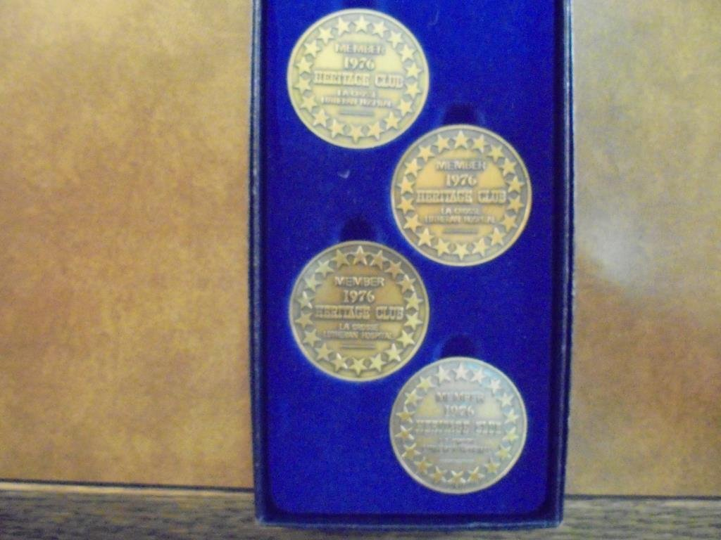 1976 BICENTENNIAL COIN SET 1 OF THE LIMITED - 2