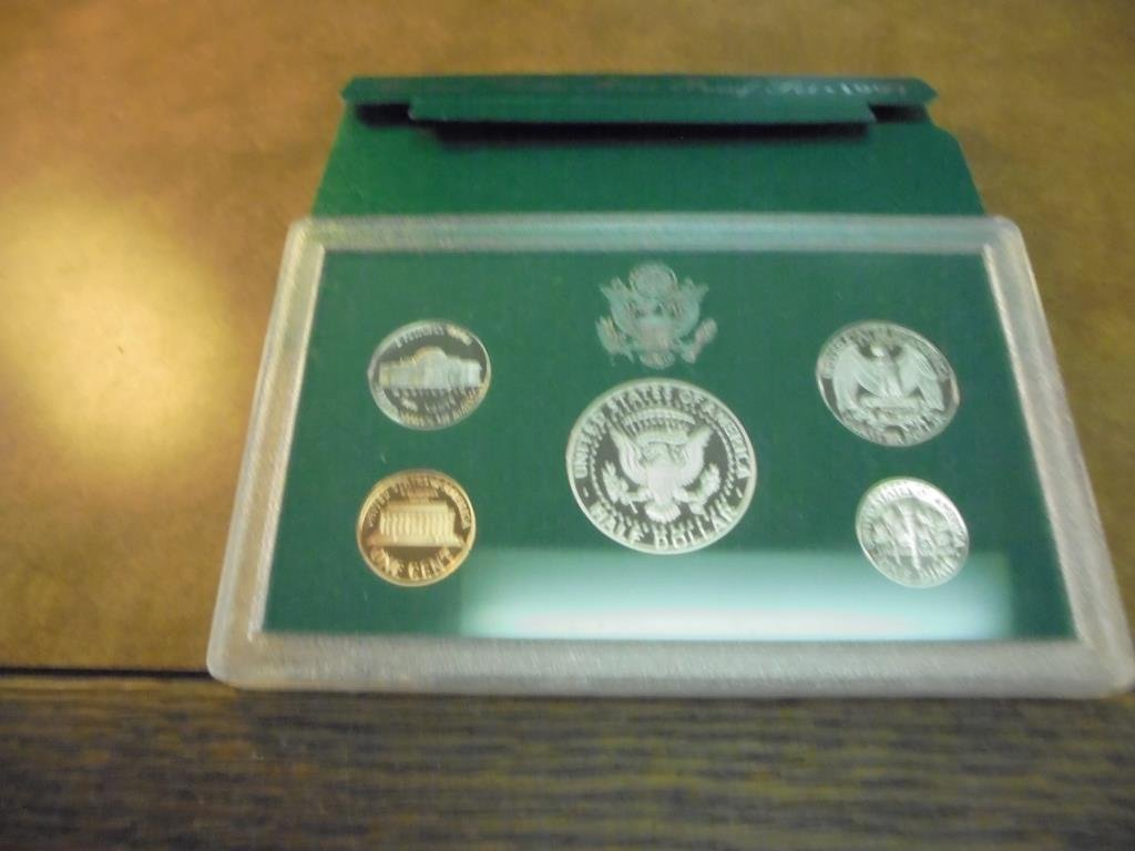 1997 US PROOF SET (WITH BOX) - 2