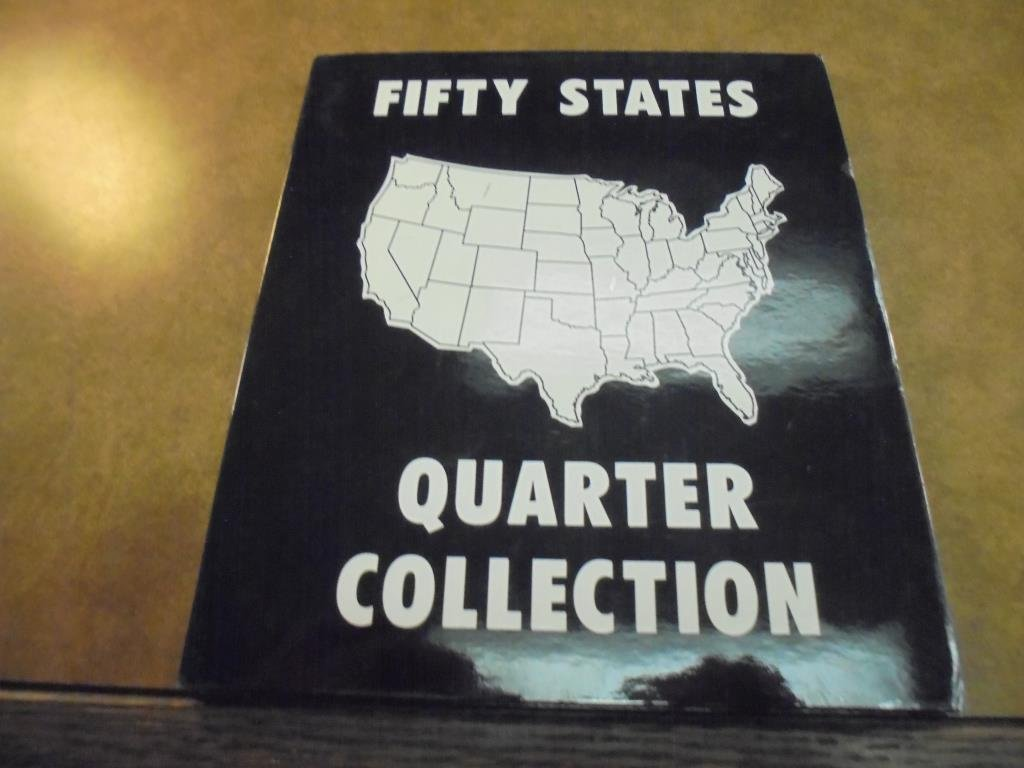 ALBUM WITH ALL 50 US STATE QUARTERS UNC - 2